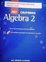 Algebra 2 homework practice workbook answers