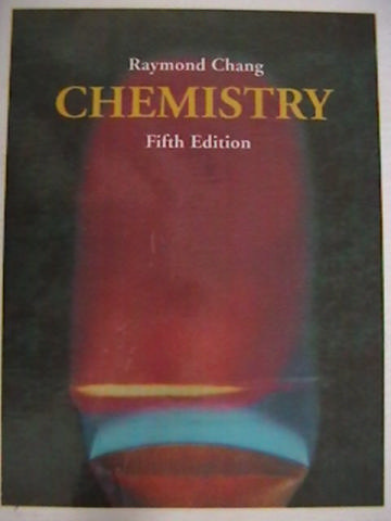 Chemistry 5th Edition (H) by Ramond Chang [0070110034 ...