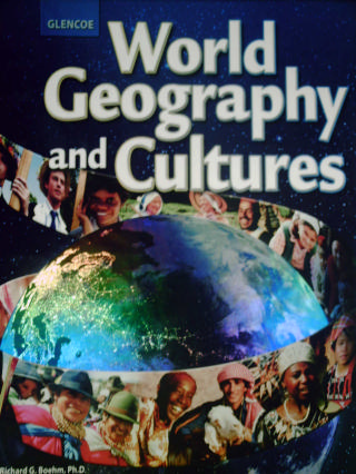 Glencoe World Geography & Cultures (H) by Boehm/Zike [0078745292] - $