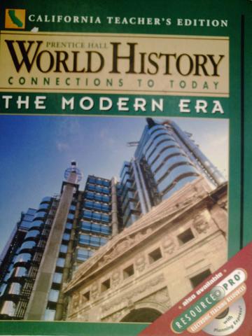 Prentice hall world history ellis esler