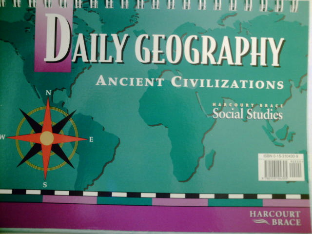 Daily Geography Ancient Civilizations (Spiral)