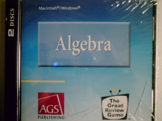 AGS Algebra The Great Review Game (CD)