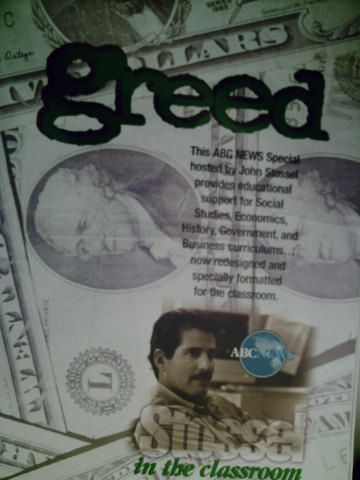 ABC News Special Stossel in the Classroom Greed (Pk)