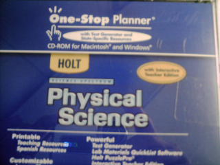 Science Spectrum Physical Science One-Stop Planner (CD)