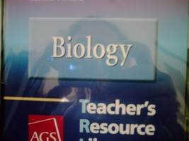 AGS Biology Teacher's Resource Library (TE)(CD)