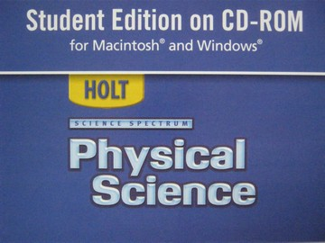 Science Spectrum Physical Science Student Edition CD (CD)