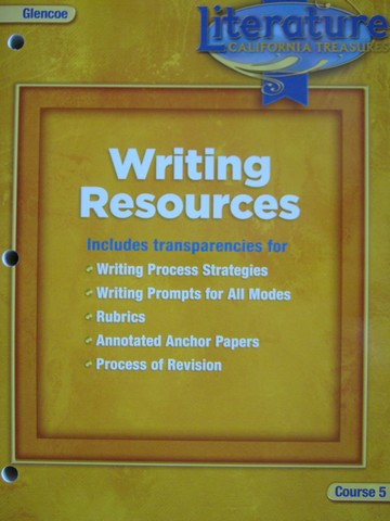 California Treasures Course 5 Writing Resources (CA)(P)