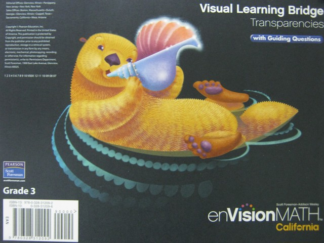 enVision Math California 3 Visual Learning Bridge (CA)(Pk ...