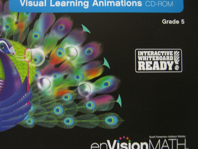 enVision Math California 5 Visual Learning Animations (CD)