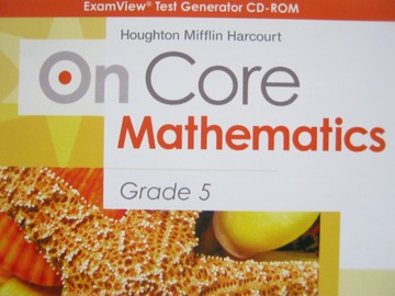 On Core Mathematics Common Core 5 ExamView Test Generator (CD)