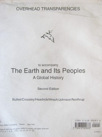 Earth & Its Peoples 2nd Edition Overhead Transparencies (Pk)