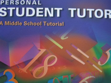 ML Middle School Mathematics Personal Student Tutor (CD)
