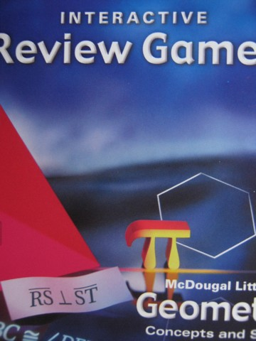 Geometry Concepts & Skills Interactive Review Games (CD)