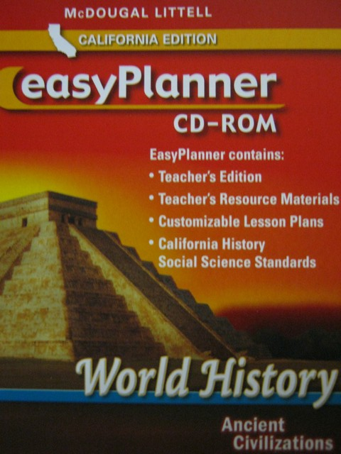 Ancient Civilizations EasyPlanner CD-ROM (CA)(Pk)