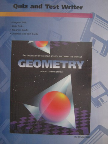UCSMP Geometry 2nd Edition Quiz & Test Writer (Binder)