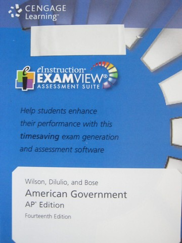 American Government 14th Edition AP Edition Assessment (CD)