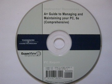 A+ Guide to Managing & Maintaining Your PC 6e IR (TE)(CD)