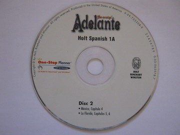 Adelante 1A One-Stop Planner ExamView Pro Disc 2 (CD)