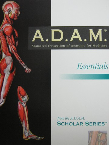 A.D.A.M. Essentials Macintosh Version 1.0 (CD)