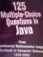 125 Multiple-Choice Questions in Java (P)