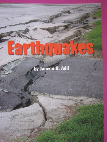 Leveled Reader Library 4 Earthquakes (P) by Janeen R. Adil