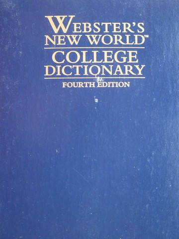 Webster's New World College Dictionary 4th Edition (H) by Agnes