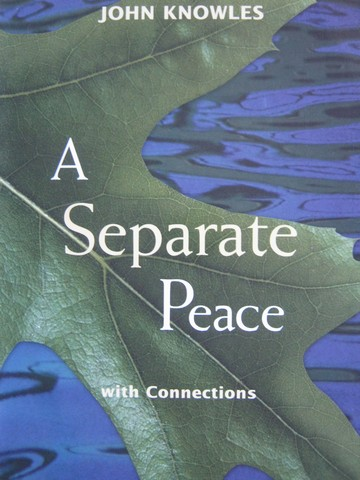 the symbolism used in john knowles a separate peace What's is the meaning behind the novel, a separate peace  the suicide  tree - the novel's most prominent symbol is the tree from which.