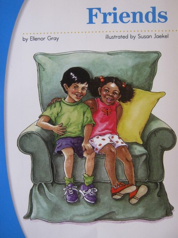 SRA Pre-Decodables Pre-K Friends (P) by Ellenor Gray