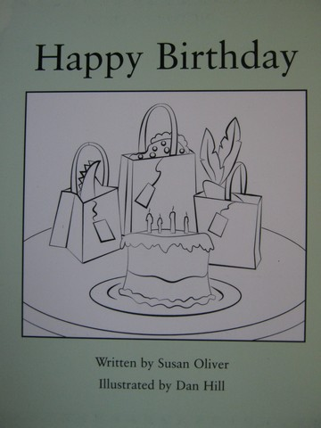 Readable Happy Birthday (P) by Susan Oliver
