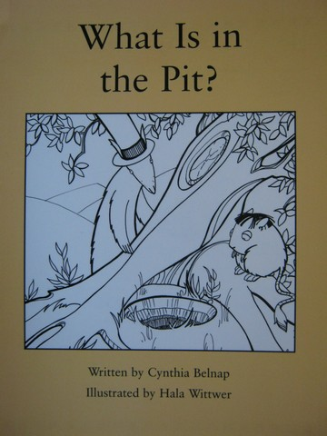 Readable What Is in the Pit? (P) by Cynthia Belnap