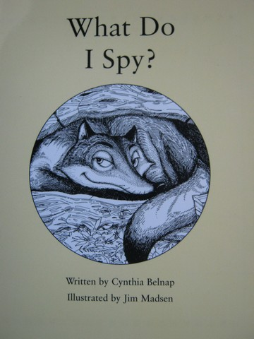 Readable What Do I Spy? (P) by Cynthia Belnap
