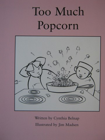Readable Too Much Popcorn (P) by Cynthia Belnap