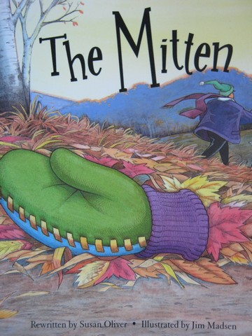 Power Word Readable The Mitten (P) by Susan Oliver