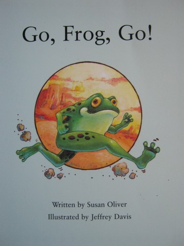 Review Readable Go Frog Go! (P) by Susan Oliver