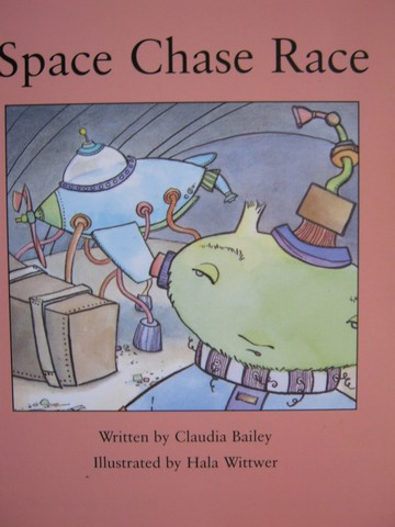 Review Readable Space Chase Race (P) by Claudia Bailey