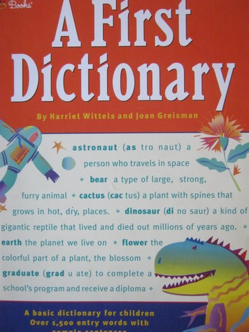 A First Dictionary (P) by Harriet Wittels & Joan Greisman