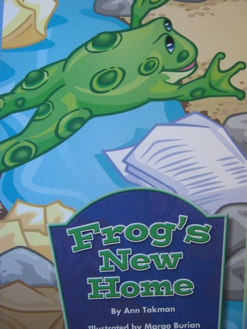 Independent Reader K Frog's New Home (P) by Ann Takman