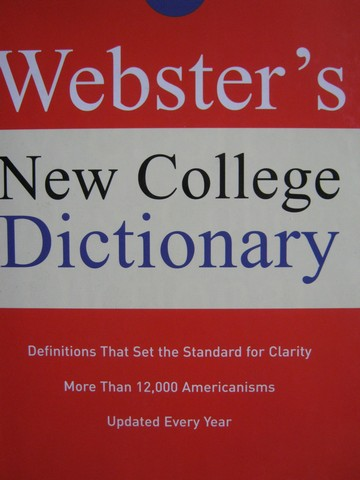 Webster's New College Dictionary (H) by Michael Agnes