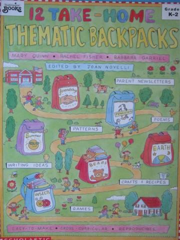 12 Take-Home Thematic Backpacks Grades K-2 (P) by Quinn,