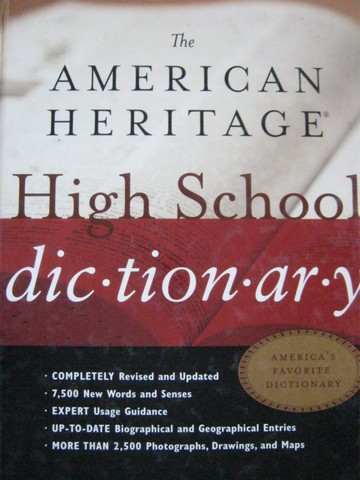 American Heritage High School Dictionary 4th Edition (H)