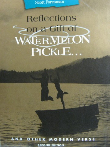 Reflections on a Gift of Watermelon Pickle & Other Modern (H)