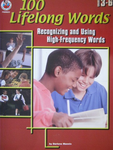 100 Lifelong Words Grades 3-6 (P) by Darlene Mannix