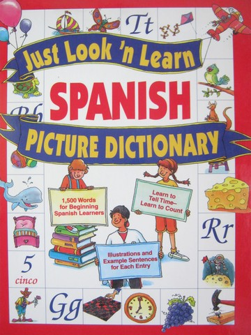 Just Look 'n Learn Spanish Picture Dictionary (H)