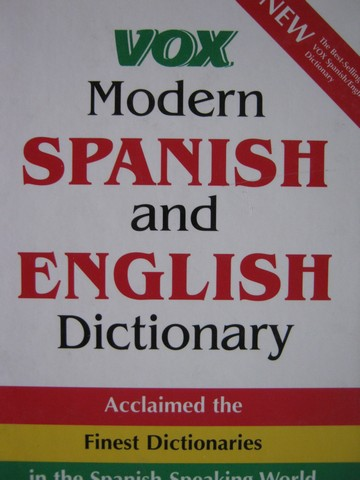 VOX Modern Spanish & English Dictionary (H)
