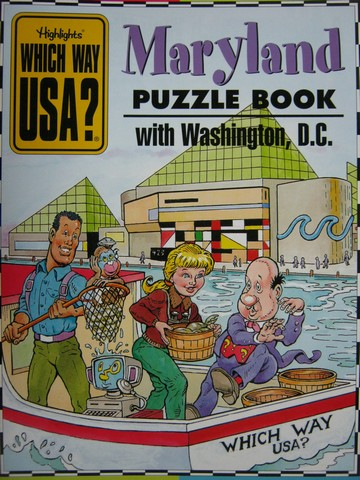 Which Way USA? Maryland Puzzle Book with Washington D. C. (P)