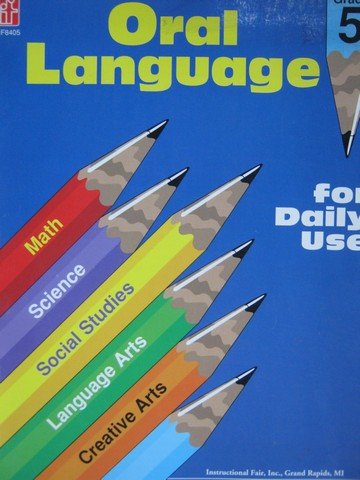 Oral Language for Daily Use Grade 5 (P) by Altena & Leik