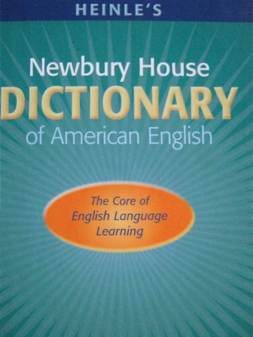 Newbury House Dictionary of American English 4th Edition (H)