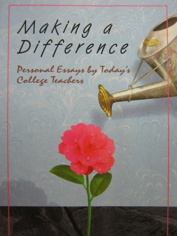 Making a difference essay