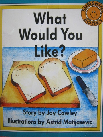Sunshine Books 1 What Would You Like? (P) by Joy Cowley