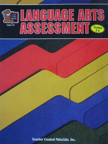 Language Arts Assessment Grades 3-4 (P) by Concetta Ryan